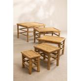Jarvis bamboe nesttafels Table, miniatuur afbeelding 2