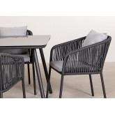 Set van 4 Arhiza Supreme stoelen & Arhiza tafel, miniatuur afbeelding 4