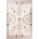 Katoenen vloerkleed (180x120 cm) Reddo, miniatuur afbeelding 1