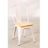 LIX houten matte stoel , miniatuur afbeelding 2