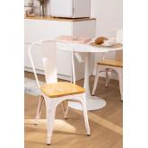 LIX houten matte stoel , miniatuur afbeelding 1