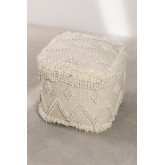 Drutt Wool Square Puff, miniatuur afbeelding 2