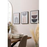 Set van 3 decoratieve borden (30x40 cm) Geos, miniatuur afbeelding 1