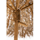 Bamboe Parasol (Ø130 cm) Quinn, miniatuur afbeelding 3
