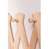 Ixi houten wandkapstok, miniatuur afbeelding 5