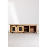 Uain Tv-meubel van mangohout, miniatuur afbeelding 3