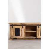 Uain Tv-meubel van mangohout, miniatuur afbeelding 6