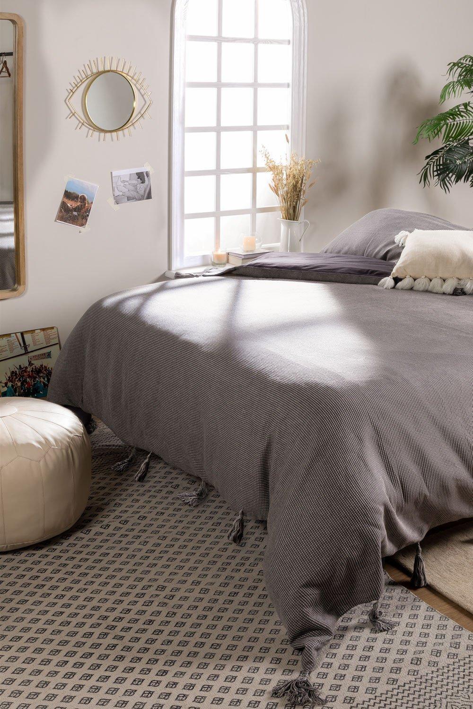 Dekbedovertrek voor bed van 150 cm in Gala-katoen, galerij beeld 1