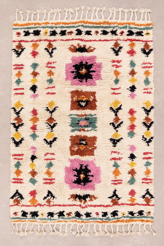 Vloerkleed van wol en katoen (270x166 cm) Obby, galerij beeld 1