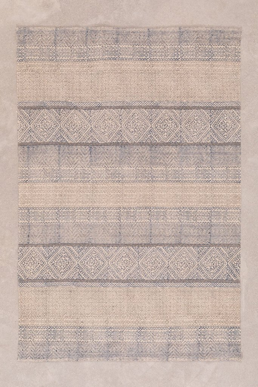 Katoenen vloerkleed (182,5x118 cm) Vintur, galerij beeld 1