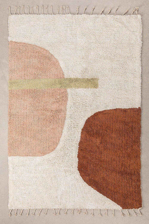 Katoenen vloerkleed (206x130 cm) Delta, galerij beeld 1