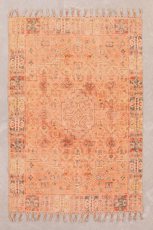 Katoenen chenille vloerkleed (183x124,5 cm) Feli, galerij beeld 1