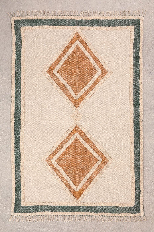 Katoenen vloerkleed (185x122 cm) Derum, galerij beeld 1