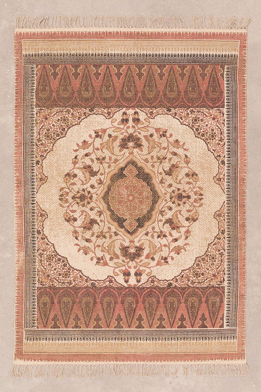 Katoenen vloerkleed (186x127,5 cm) Shavi, galerij beeld 1