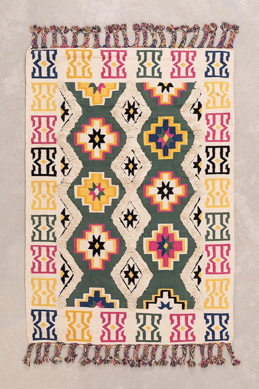 Katoenen vloerkleed (181x121,5 cm) Anfu , galerij beeld 1