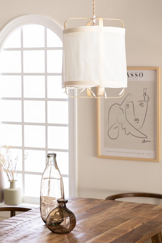 Aslob plafondlamp, galerij beeld 1