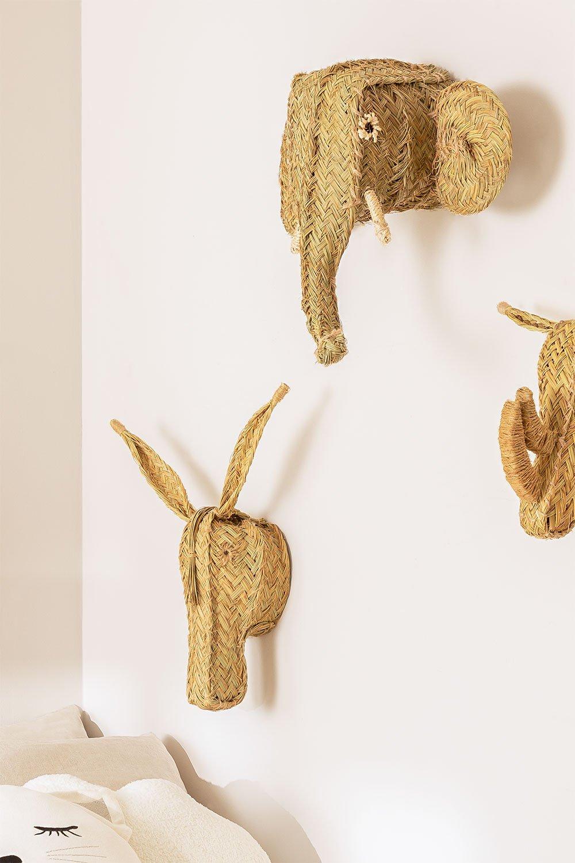 Umbo dierenkop, galerij beeld 1