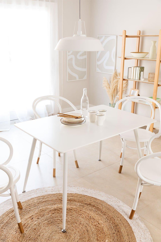 tafel Lahs MDF 120 cm, galerij beeld 1