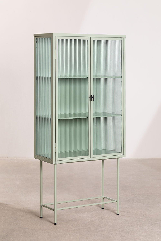 Vitrine van metaal en glas Vertal , galerij beeld 1