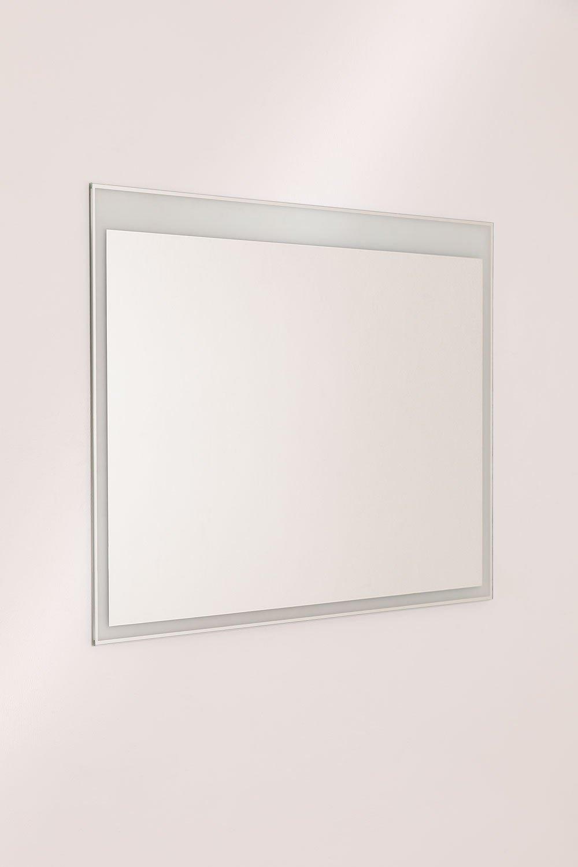 Wandspiegel (70x90x1,5 cm) Normah, galerij beeld 1