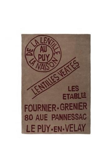 Katoenen vloerkleed (200X140 CM) Ablis