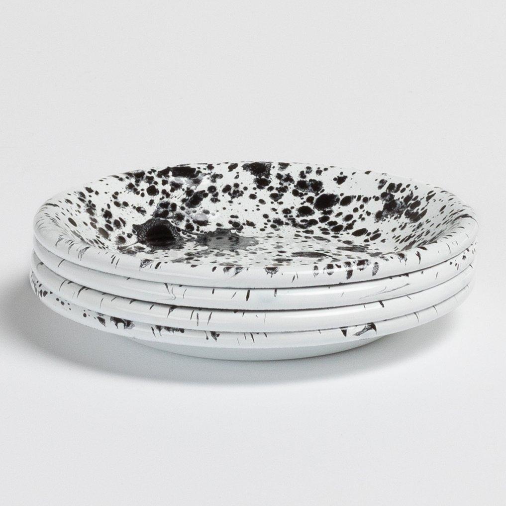 Pack van 4 kleine borden Dahlm by Bornn, galerij beeld 1