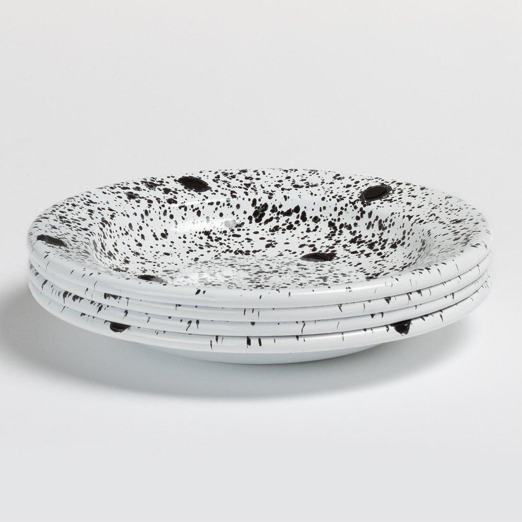 Pack van 4 diepe borden Dahlm by Bornn, galerij beeld 1