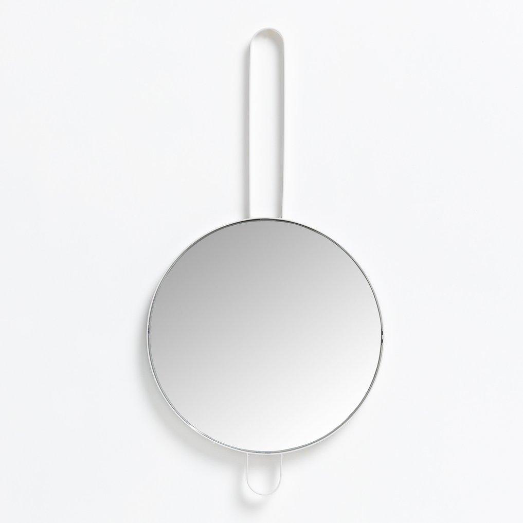 Ronde metalen wandspiegel (Ø30 cm) Ryna, galerij beeld 1
