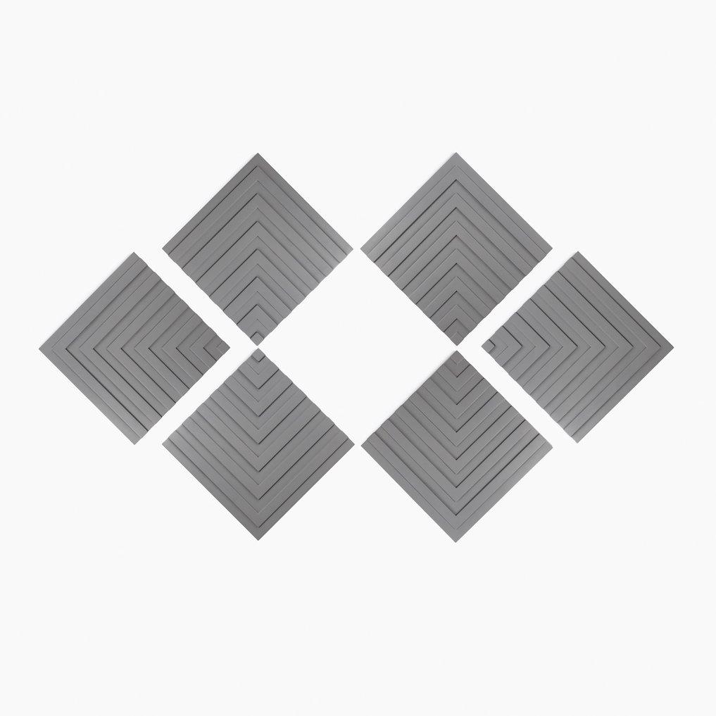 Decoratief paneel in cementzon [6 stuks], galerij beeld 1