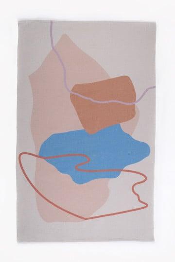 Katoenen vloerkleed (188x119 cm) Kandi