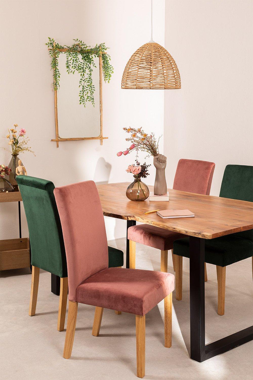 Set van 2 Cindy Velvet eetkamerstoelen, galerij beeld 1