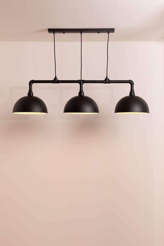 Plafondlamp in metaal Sario, galerij beeld 1