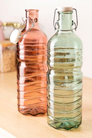 1.5L gerecyclede glazen fles Margot