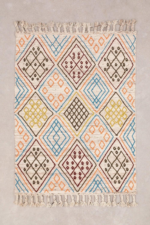 Wollen vloerkleed (196x144 cm) Antuco, galerij beeld 1