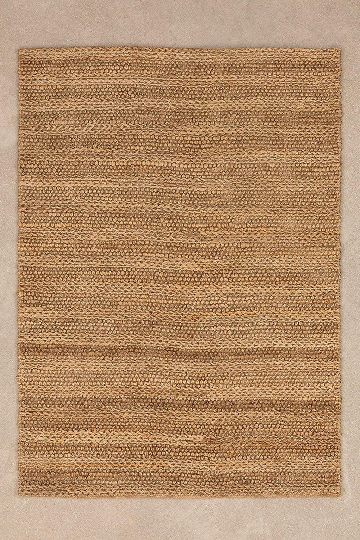 Jute vloerkleed (178x129 cm) Yoan, galerij beeld 1