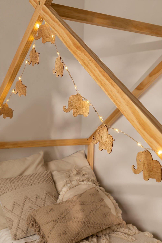 Decoratieve LED-krans (2,30 m) Domby Kids, galerij beeld 1
