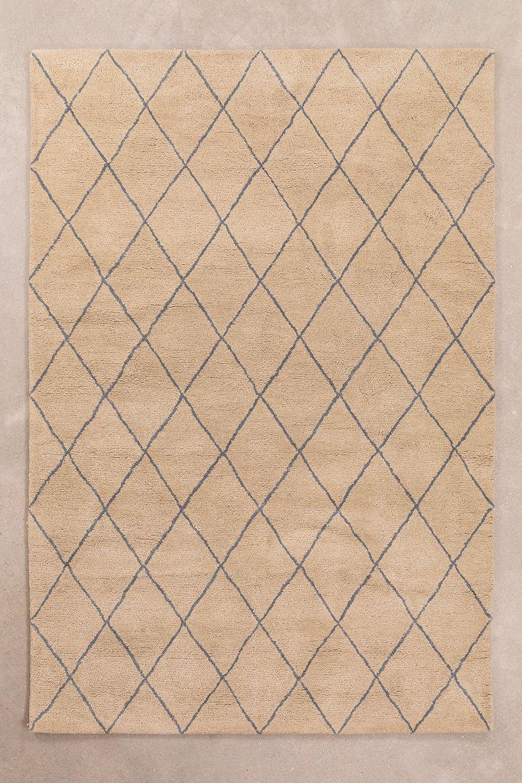 Wollen vloerkleed (233x156 cm) Kalton, galerij beeld 1