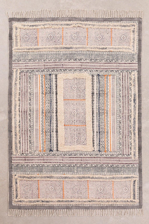 Katoenen vloerkleed (183x126.5 cm) Smit, galerij beeld 1