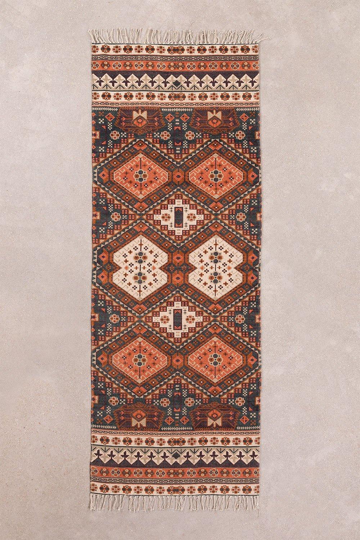 Katoenen vloerkleed (200x74 cm) Alaina, galerij beeld 1