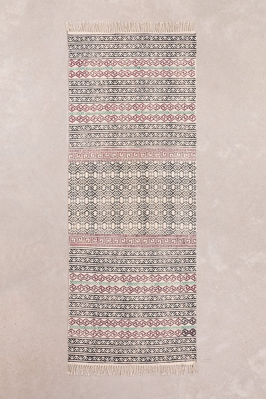 Katoenen vloerkleed (203,5x78,5 cm) Sousa, galerij beeld 1