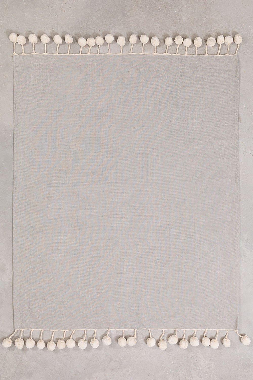 Geruite Katoenen Deken Olis, galerij beeld 1
