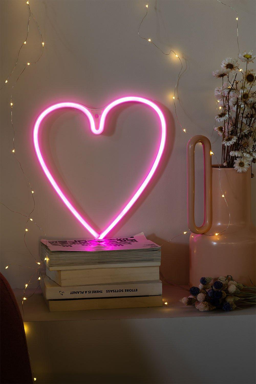 Neon hart, galerij beeld 1