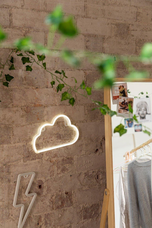 Neon wolk, galerij beeld 1