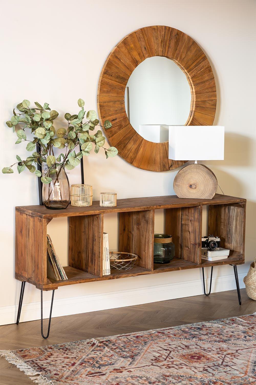 Ceila gerecycled houten hal, galerij beeld 1