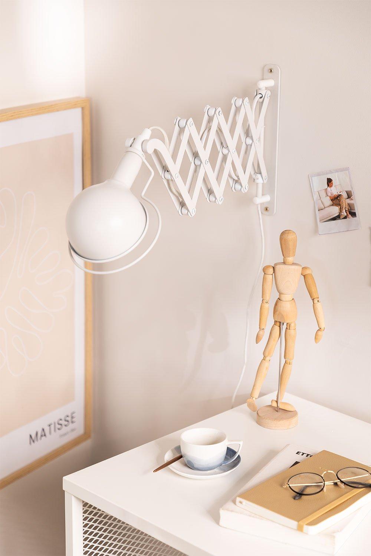 Uitschuifbare wandlamp Adan, galerij beeld 1