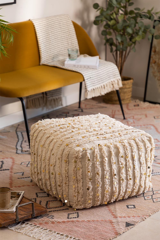 Vierkante Gorup Cotton Puff, galerij beeld 1