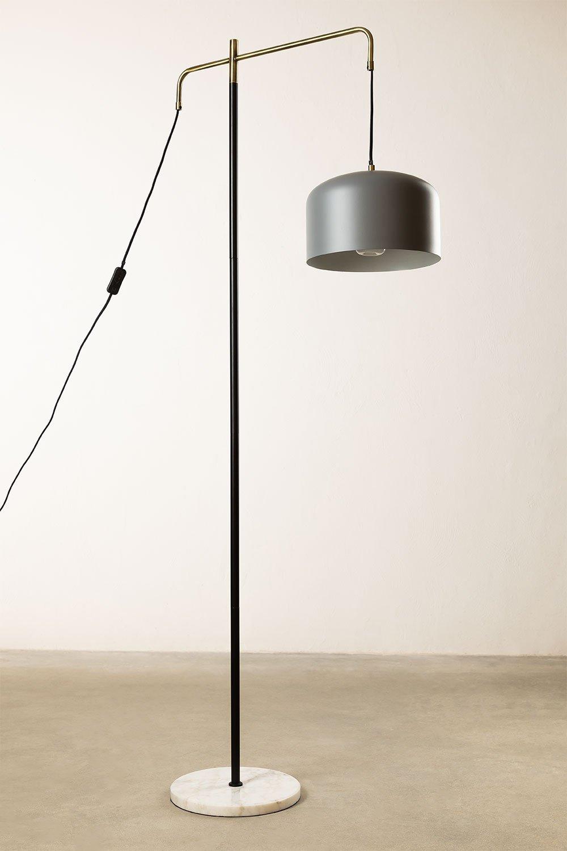 Vloerlamp met Fendi hangscherm, galerij beeld 1