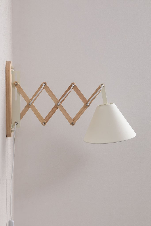Menes uitschuifbare wandlamp, galerij beeld 1