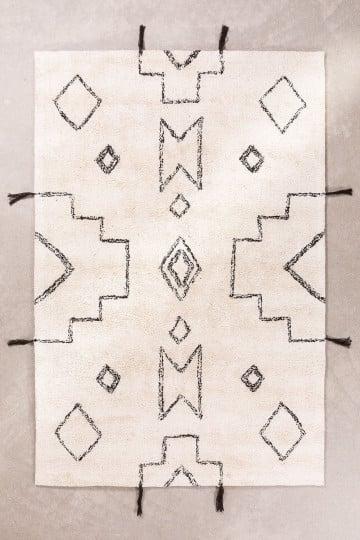Katoenen vloerkleed (180x120 cm) Reddo