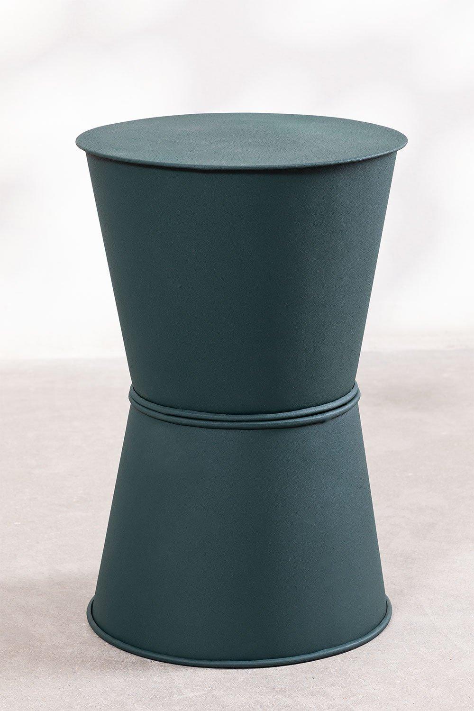 Metalen bijzettafel (Ø33 cm) Albi, galerij beeld 1